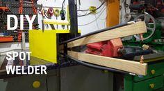 DIY Spot Welder / DIY Zgrzewarka z mikrofalówki