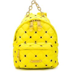 Moschino Eyelet Embellished Backpack ($675) ❤ liked on Polyvore featuring bags…