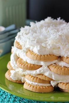 No-Bake Coconut Icebox Cake