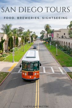 Find the best San Diego tours for sightseeing, food, breweries, families and more. Check it out at La Jolla Mom! San Diego Vacation, San Diego Travel, San Diego Beach, San Diego Zoo, San Diego Tours, San Diego Attractions, Wine Train, La Jolla Shores, Summer Camps For Kids