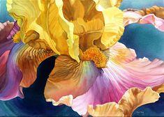 Marney Ward Flower Paintings -