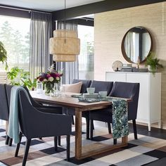 Next, you'll enjoy 15 Some of the Coolest Ideas How to Make Living Room Sets IKEA that will give you Living Room Sets Ikea, Ikea Dining Room, Dining Room Furniture, Outdoor Furniture Sets, Dining Table, Luxury Furniture, Furniture Ideas, Room With Plants, Decoration Table