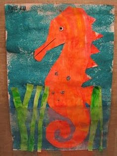 eric carle seahorse