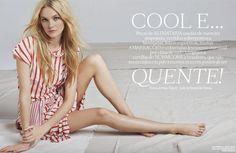 Vogue Brazil October 2014   Caroline Trentini by Arthur Elgort [Editorial]