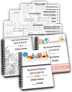 Free Homeschool Planner Sampler, 25% Summertime Coupon, & Prize Giveaway