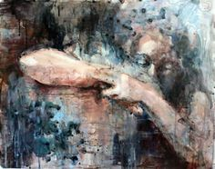 'First Embrace'  Anna Shukeylo was born in St. Petersburg, Russia, and received a BFA in painting from Pennsylvania Academy of the Fine Arts in 2010.    Her work has been exhibited in New Jersey as well as in Pennsylvania.