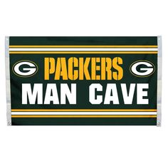 Green Bay Packers 3'x5' Man Cave Design Flag