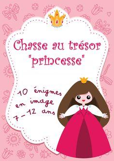 Chasse au trésor de princesse