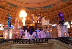 The fabled world of Atlantis rises again, as The Forum Shops at Caesars reveals an updated take on its popular animatronic attraction The Atlantis Show. Tuesday, November 26, 2013. (Photo/Las Vegas News Bureau, Darrin Bush)