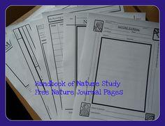Handbook of Nature Study freebies by HarmonyArtMom, via Flickr