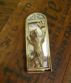 Cat Looking into a Mirror Brooch Pin  Vintage  by EntirelyApropos, $15.00