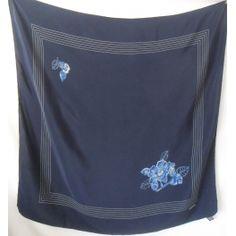 4f77b0201e77 seta, scarf, sciarpa, Foulard Carré en Soie, seidentuch, CHANEL, carré