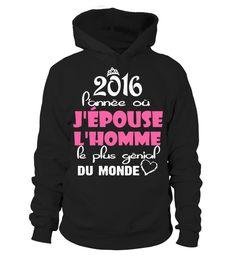 2016 Panne o jpouse jhomme pe plus gnial du monde tshirt