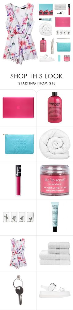 """""""listening to our favorite song"""" by sabulous836 ❤ liked on Polyvore featuring Incase, philosophy, Miss Selfridge, Brinkhaus, NARS Cosmetics, Sara Happ, Casarialto, Christy, Maison Margiela and STELLA McCARTNEY"""