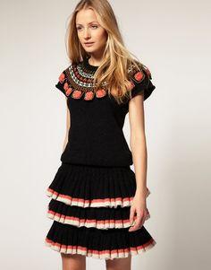 Tricot Dress Manoush