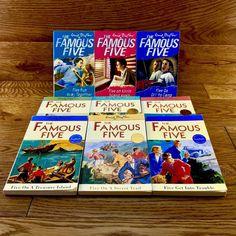 Famous five Large 9 x Book Bundle Reading Story Edith Blyton kids young adults Famous Five Books, Treasure Island, Young Adults, Reading, Kids, Young Children, Boys, Reading Books, Children