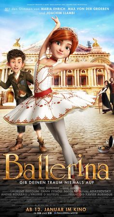 Directed by Eric Summer, Éric Warin.  With Elle Fanning, Dane DeHaan, Mel Brooks, Maddie Ziegler. An orphan girl dreams of becoming a ballerina and flees her rural Brittany for Paris, where she passes for someone else and accedes to the position of pupil at the Grand Opera house.