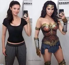 Repost from Amazing cosplay by (when I first saw this I genuinely thought it was Gal Gadot ). Dc Cosplay, Cosplay Anime, Cosplay Outfits, Best Cosplay, Cosplay Girls, Female Cosplay, Marvel Cosplay, Wonder Woman Cosplay, Wonder Woman Makeup