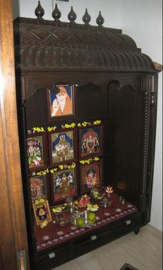 12 Pooja Room Designs in Wood