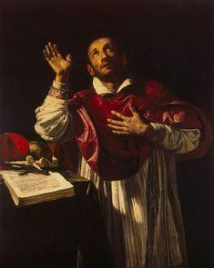 Orazio Borgianni - St Carlo Borromeo, 1610