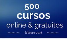 Una nueva oportunidad para dedicar tiempo a nuestra formación con los cursos online y gratuitos que compartimos en esta nuestra selección para febrero en w