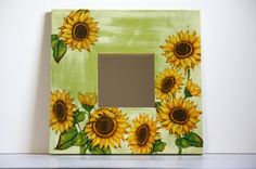 Sunflower Kitchen Accessories | visit etsy com