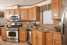 kitchen ideas with oak cabinets for elegant home inspired kitchen