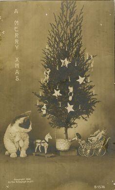 1906 Christmas postcard