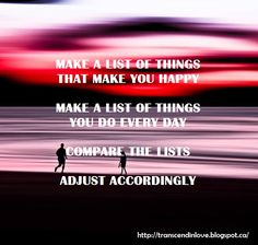 MAKE A LIST #quotes #quoteoftheday #happy #love #life #motivational Lists To Make, How To Make, Natural Health, Are You Happy, Health And Beauty, Quote Of The Day, Motivational, Make It Yourself, Quotes