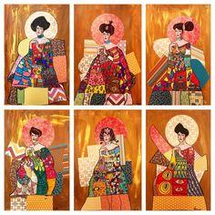 Art Room Britt: Gustav Klimt Portait of Adele (Woman in Gold)