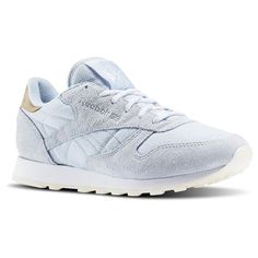 the latest d1ee1 97783 Reebok - Classic Leather Sea-Worn Basket A Talon, White Leather Shoes,  Leather