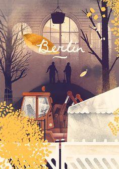 Illustrations by Karolis Strautniekas | Inspiration Grid | Design Inspiration