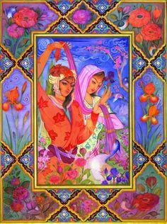 Персидская живопись, Постер 21054