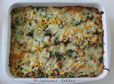 Sabrina's Køkken: Pasta fad med skinke og grønt