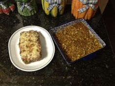 Swiss Meatloaf and Noodles with Buttered Crumbs -- savory alternative to traditional meatloaf and a big hit at my house