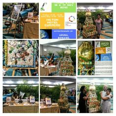 2018 Sustainable Trade Show at Hilton Hotel Curacao showing Long Finger Lady installation enlightened defining your outher future above your inner past Trade Show, Art World, Sustainability, Past, Finger, Photo Wall, My Arts, Future, Past Tense