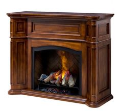 Dimplex - Home Page » Fireplaces » Mantels » Products » Charleston ...