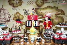 Angela Simone Doces: Jake e os piratas no Magic Games