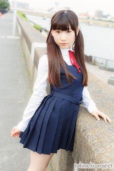 Cute School Uniforms, School Uniform Fashion, Japanese School Uniform, School Girl Outfit, School Uniform Girls, Girls Uniforms, School Girl Japan, Japan Girl, Beautiful Japanese Girl