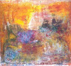 """Virgin Island"" 1987. By Ester Gyory"