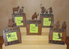 Western Home Decor | COWGIRL STYLE DECOR Western Picture Frame with MAGNET!! - Home Decor