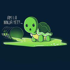 Am I A Ninja Yet? T-Shirt TeeTurtle