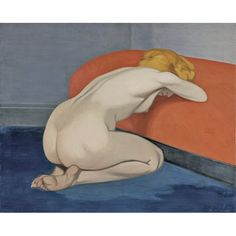 Nude Kneeling against a red sofa Felix Vallotton Wholesale Oil Painting China Picture Frame 45769 Figure Painting, Figure Drawing, Painting & Drawing, Lausanne, Avant Garde Artists, Pierre Bonnard, Night Pictures, Life Drawing, Art Reproductions