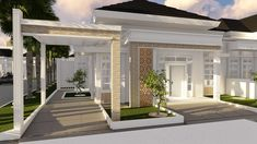 Modern Simple Bungalow House Design With Terrace In Philippines 80 beautiful images of simple small house design duration. House design terrace philippines see description. Simple Bungalow House Designs, Bungalow Haus Design, Bungalow House Plans, Unique House Design, Modern Tiny House, New House Plans, Art Deco Hotel, Style At Home, Philippines House Design