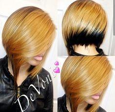 Amazing bob haircut <3
