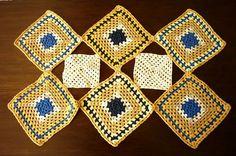 Hand crocheted tablecloth Vintage Rectangle by GrandmasDowry, $24.99
