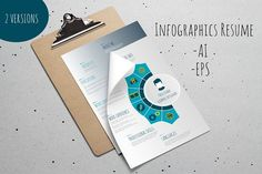 nice Best Infographics Resume CreativeWork247 - Fonts, Graphics, Themes, Te...