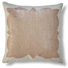 Ashley 22x22 Linen Pillow, Flax $$$