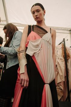 Fanni Varga, LCF, BA graduate fashion