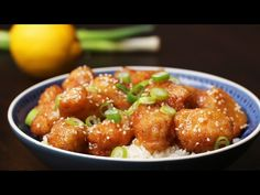 Chinese Take-Away-Style Lemon Chicken - YouTube
